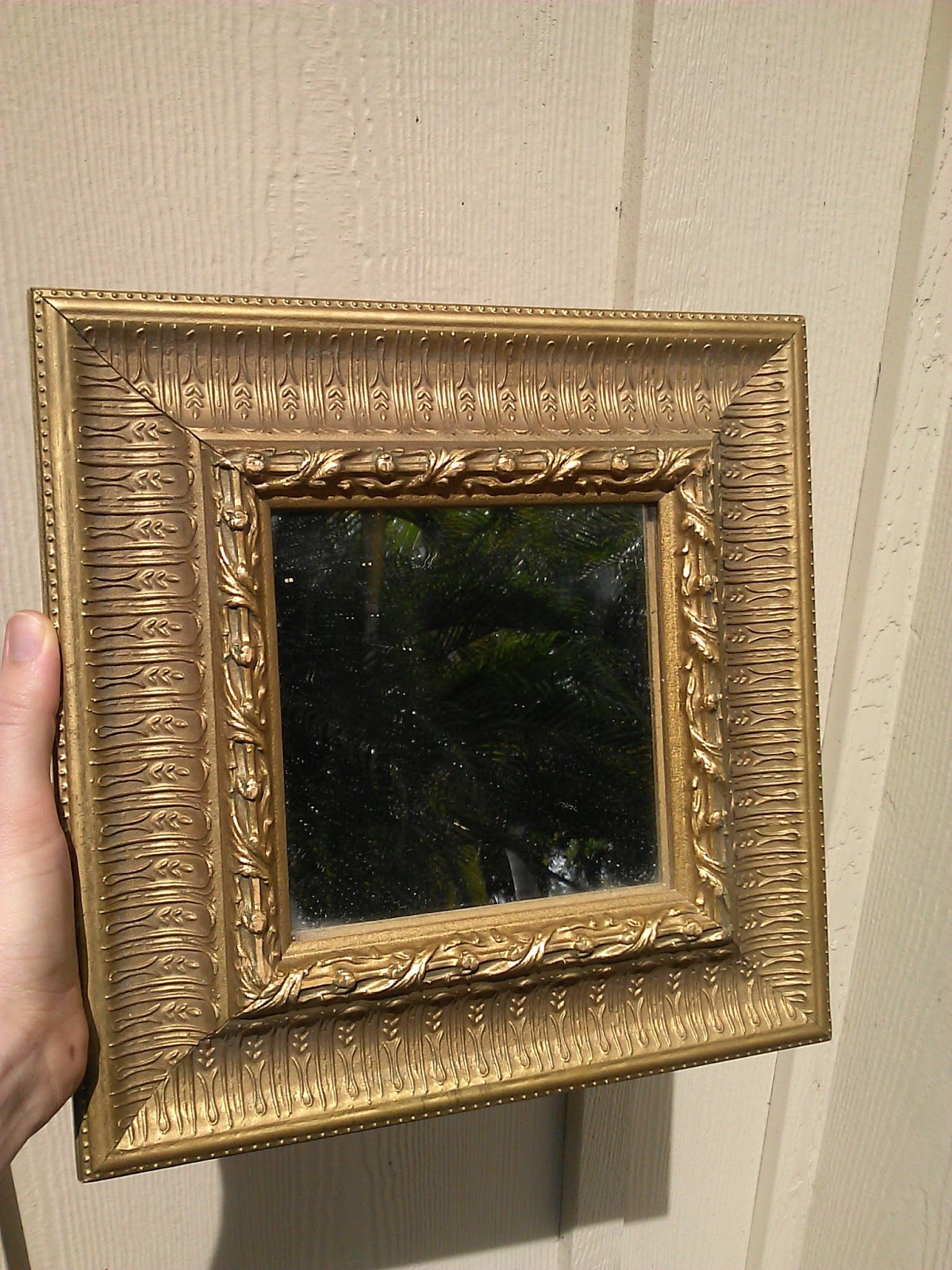 The Lovely Prelude: Distressed Gold Frame