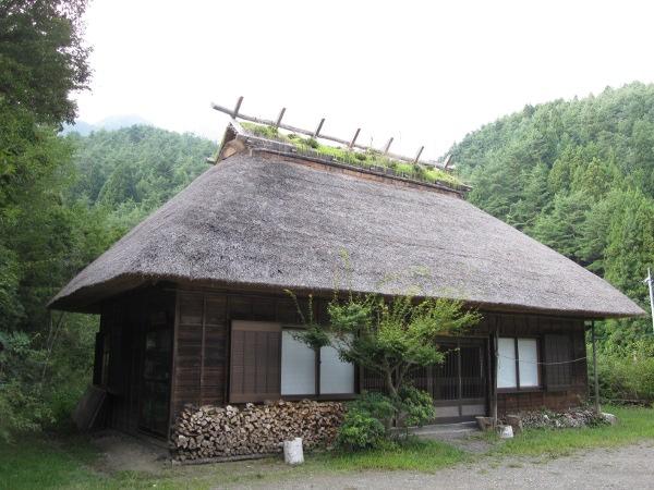 японский дом в древнем стиле