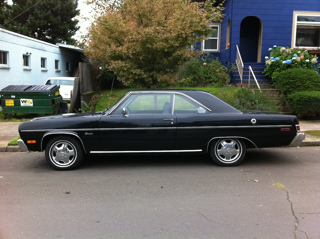Dodge Dart 76 >> THE STREET PEEP: 1974 Plymouth Scamp
