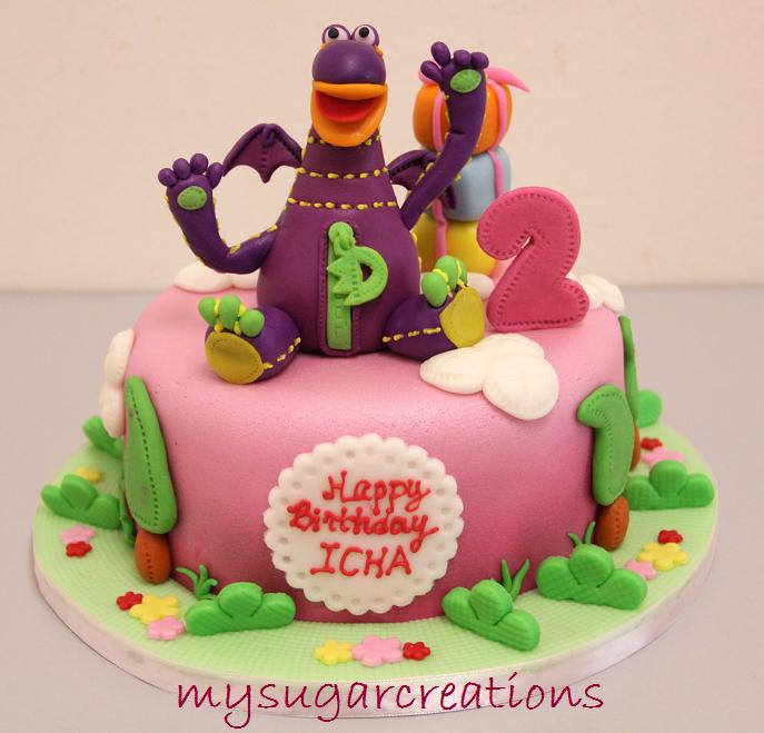 My sugar creations 001943746 m dibo the gift dragon cake icha thank you faith the dibo is gorgeous and the choc cake is very soft and yummy all guests are loving it and for sure no leftover negle Choice Image