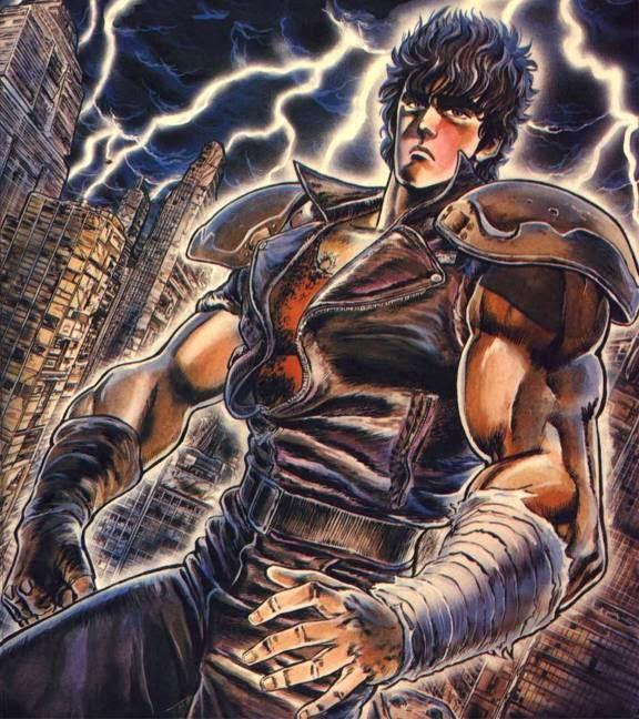 Esse Blog é protegido pelo Kenshiro, respeite-o ou voce levara um omae wa mo shindeiru!!