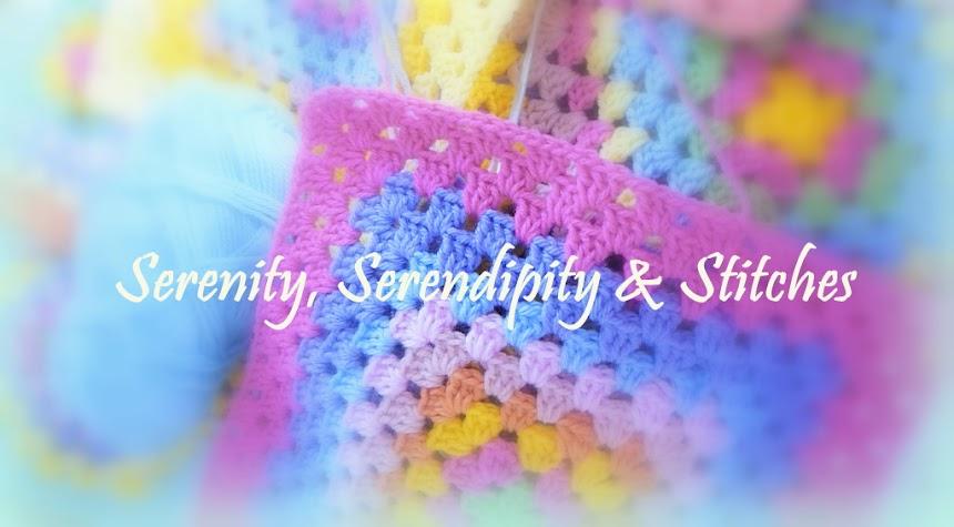 Serenity, Serendipity & Stitches