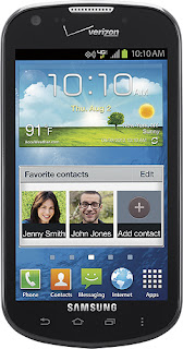 Samsung SCH-i200 - Galaxy Stellar 4G Mobile Phone - Black (Verizon Wireless)