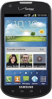 Samsung SCH-i200 - Galaxy Stellar 4G Mobile Phone - Black (Verizon Wireless)