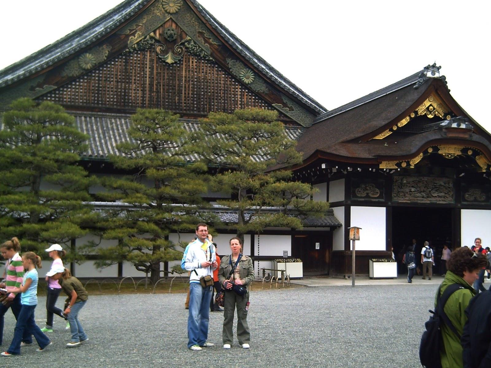 kioto kyoto castillo castle nijo japon japan