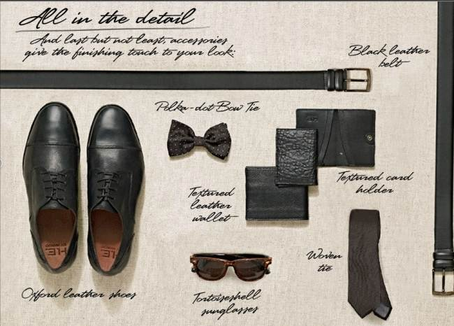 HEbyMango accessories for men