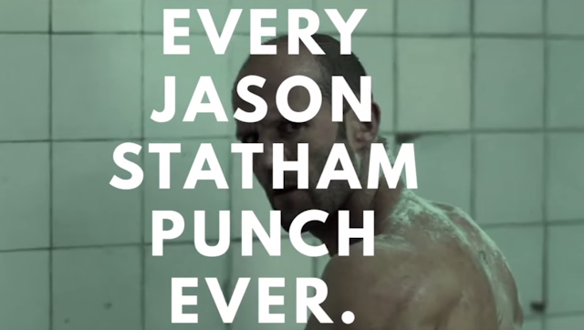 Every Jason Statham Punch. Ever. | Der Jason Statham Box Supercut