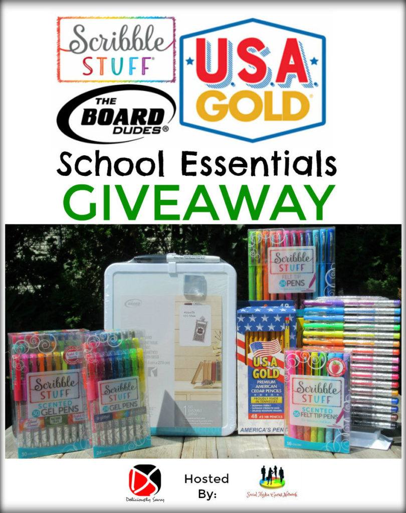 Scribble Stuff School Essentials Giveaway