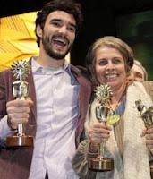 Festival de Gramado - Caio Blat e Lúcia Murat