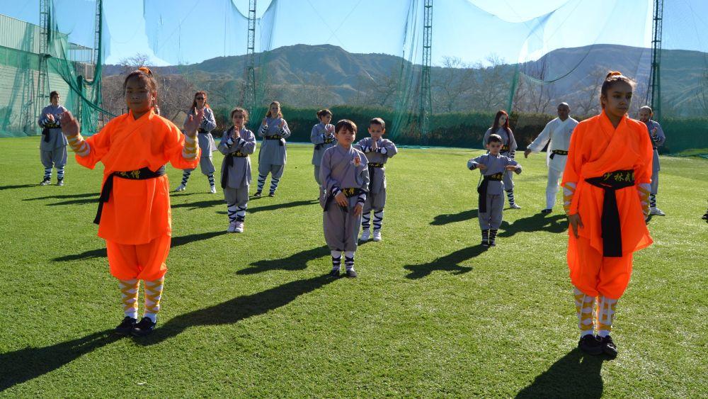 Kung-Fu en Madrid  - Shaolin Kung Fu Madrid - Tlf 626 992 139 Master Senna y Paty Lee
