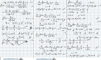 تصحيح التمرين الرابع-الدوال+التكامل+المتتاليات- من الامتحان الوطني 2015 في مادة الرياضيات المسرب