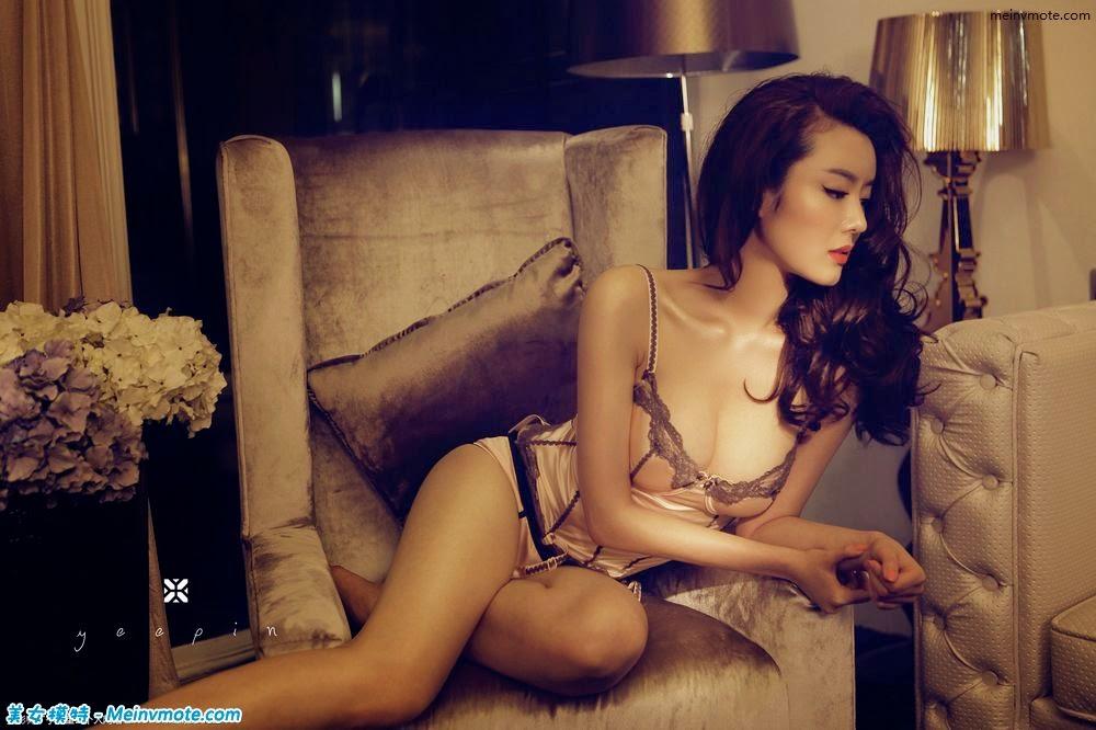 Erotic charming low-cut worships money and women exposed hemisphere