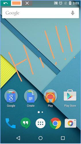 merekam layar Android tanpa root