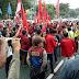 Aksi Penolakan UU MD3 di Gedung DPRD Surabaya, Ricuh