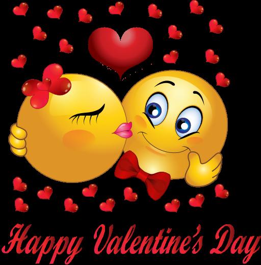 Valentine smileys