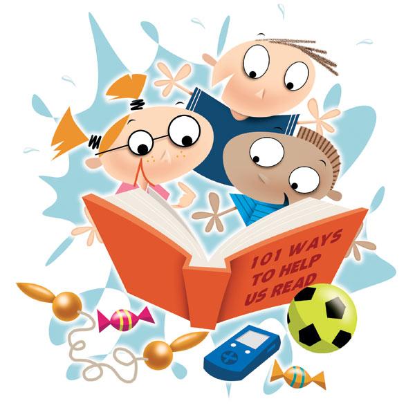 kids reading Về việc lựa chọn sách Nội khoa để đọc