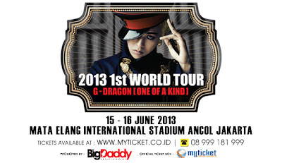 G-Dragon 2013 Tur Indonesia