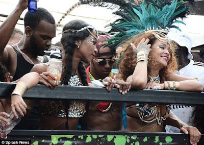Rihanna & Lewis Hamilton cosy up at Barbados festival  2B1694BC00000578-3184348-image-a-58_1438681909095
