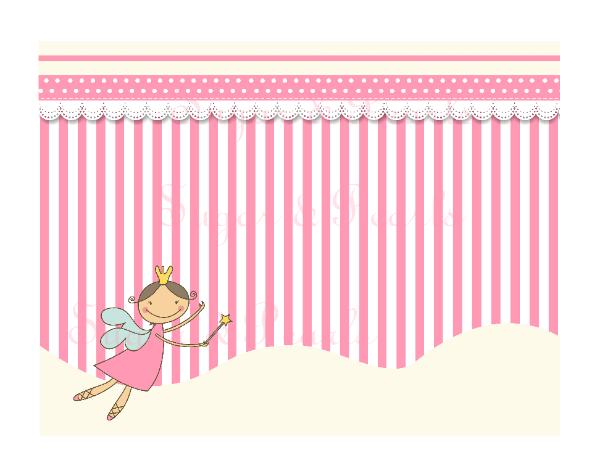 Σουπλά τραπεζιού νεράιδα-Sugar & Pearls