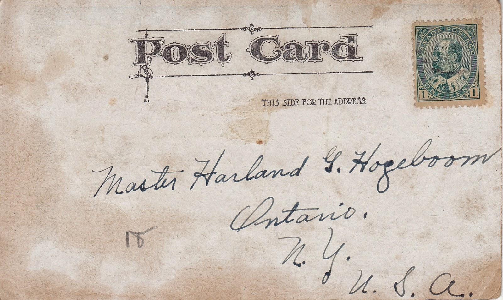 Bank of Cupid Vintage Postcard - pay 1,000,000 kisses
