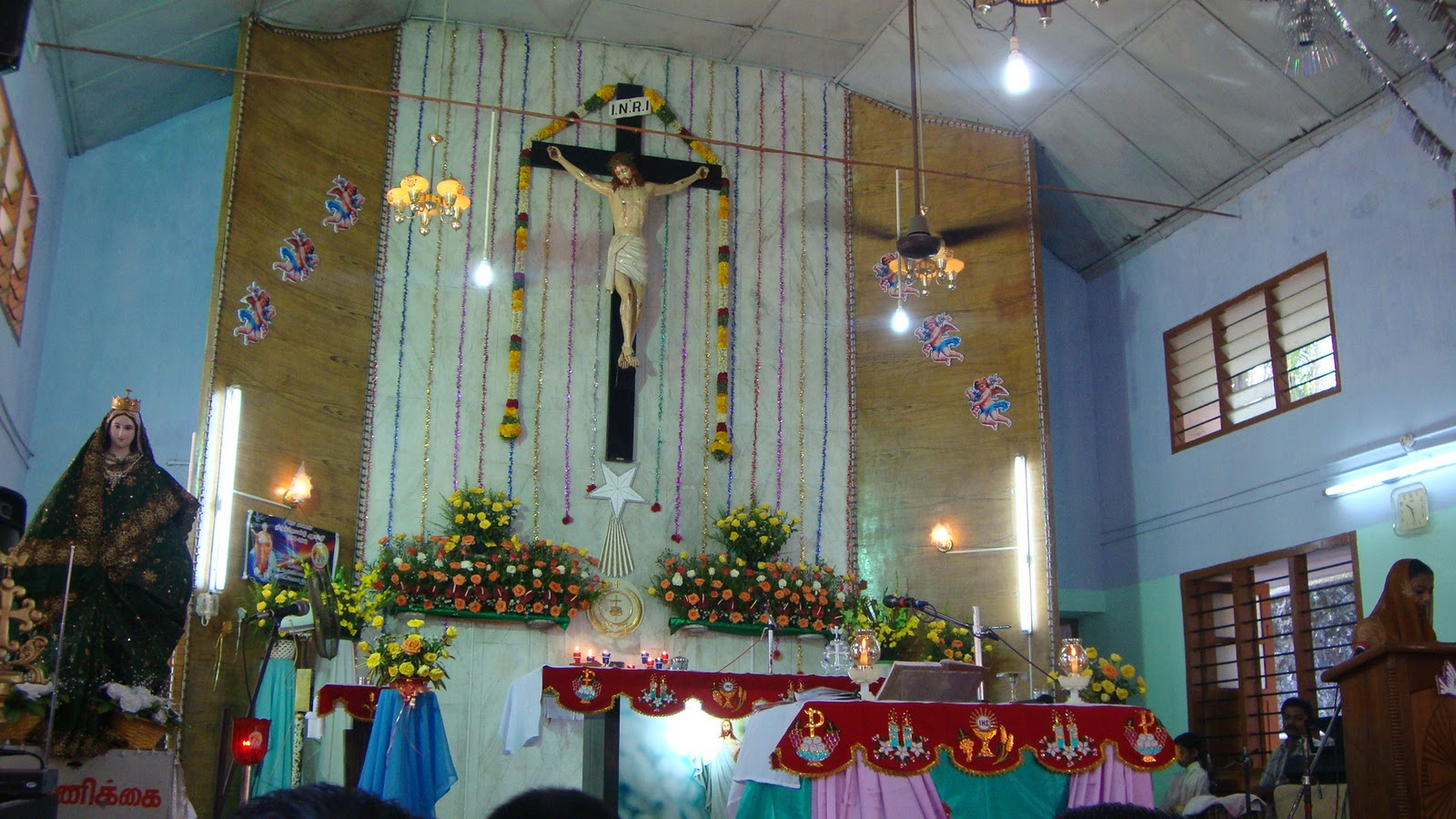 Little Flower Church Pilankalai Tenth Day Mass