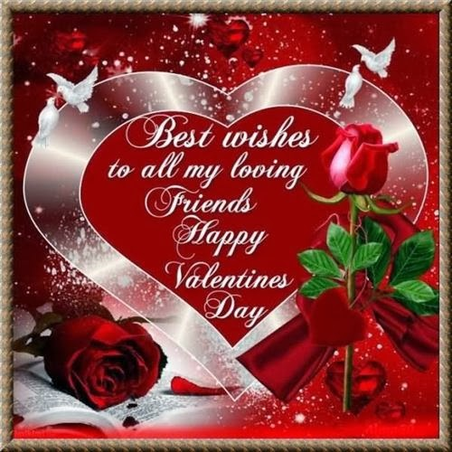 Best Happy Valentine's Day Wishes For Friends 2014