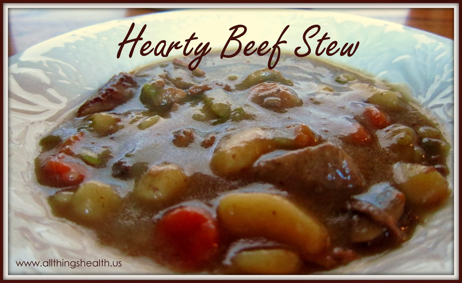 This stew is so easy to make and it tastes great!