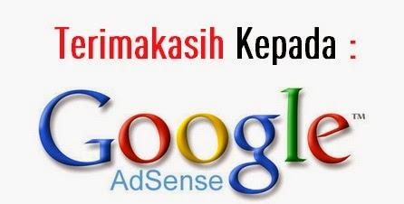 Terimakasih Kepada Google Adsense
