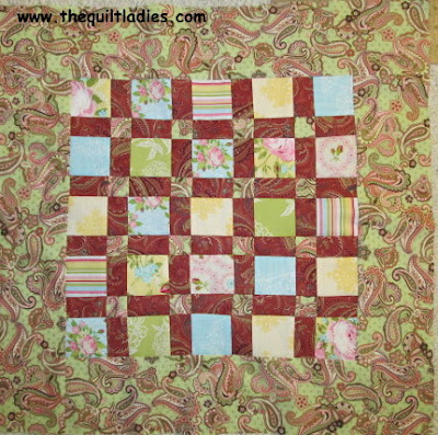 Quilt Charm Table Topper Complete Pattern for You