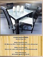 ... meja makan jati minimalis kursi makan jati furniture mebel jepara