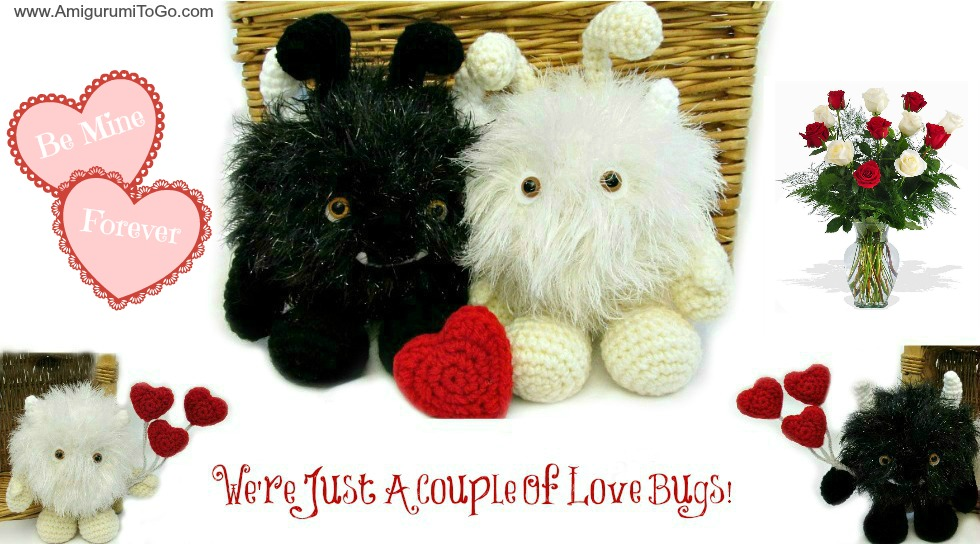 Valentine Greetings and Spring Dresses ~ Amigurumi To Go