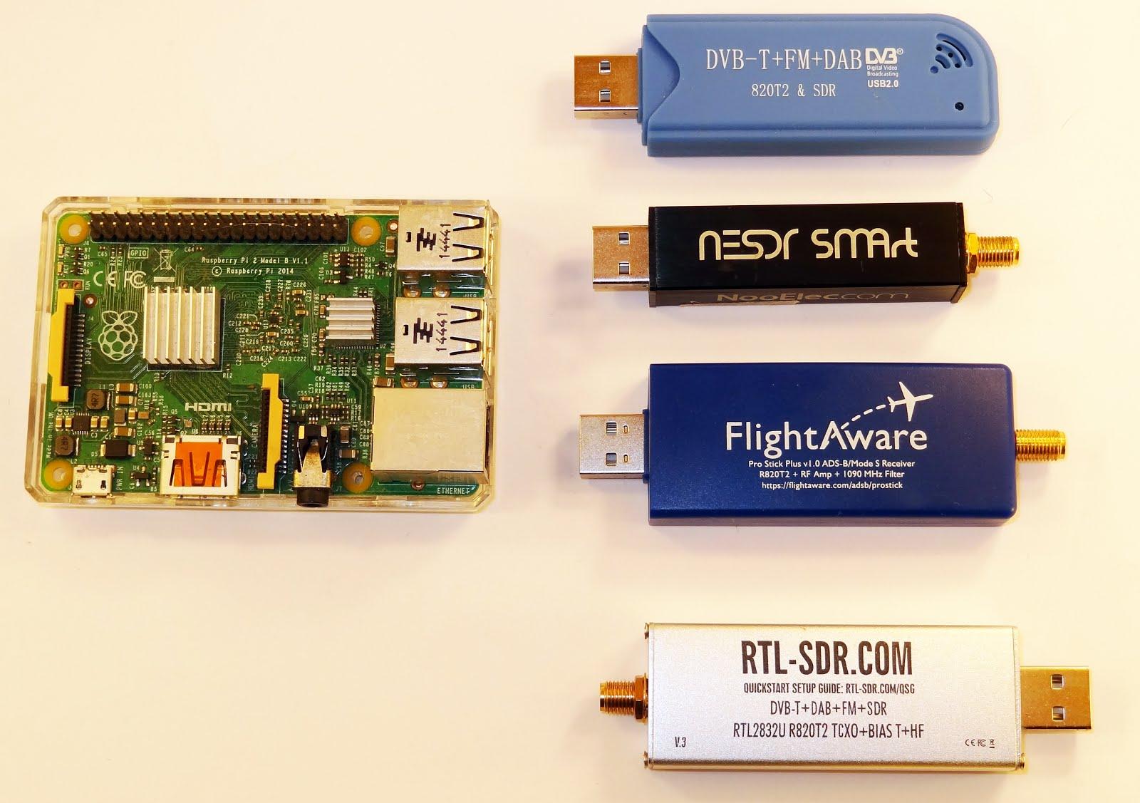 Pi 3 Network Attached Storage, Torrentbox, ADS-B server   Radio for