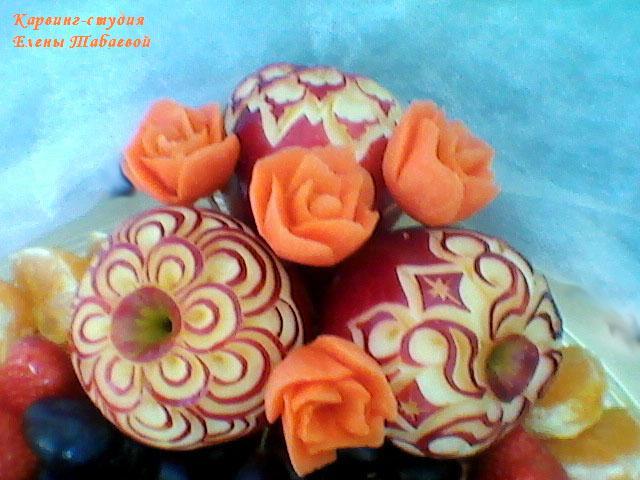 карвинг-студия южно-сахалинск оформление торжеств фруктовыми композициями
