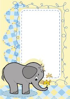 Un elefante para bebes Marcos para fotos infantiles