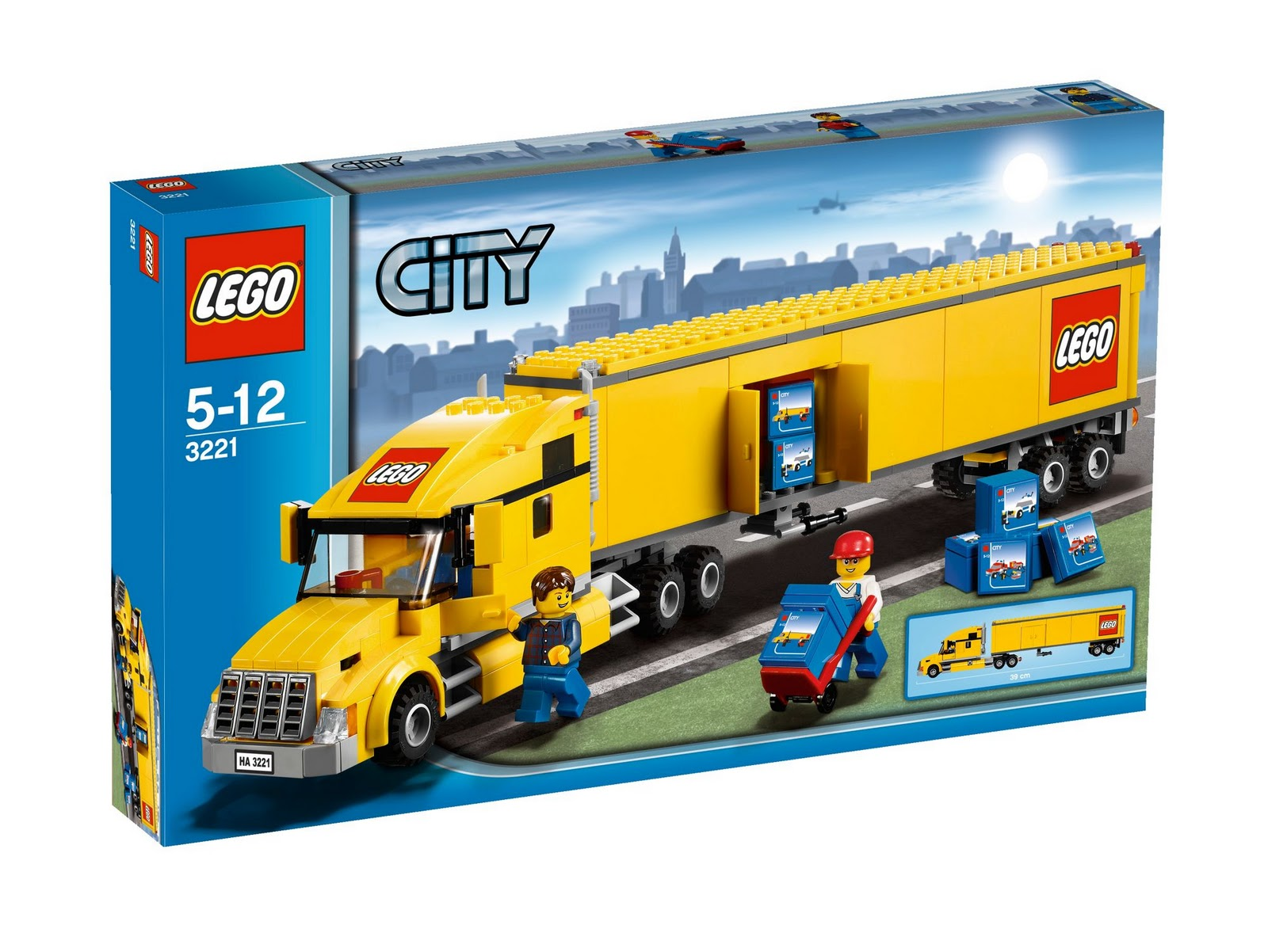 lego set database 3221 lego city truck. Black Bedroom Furniture Sets. Home Design Ideas