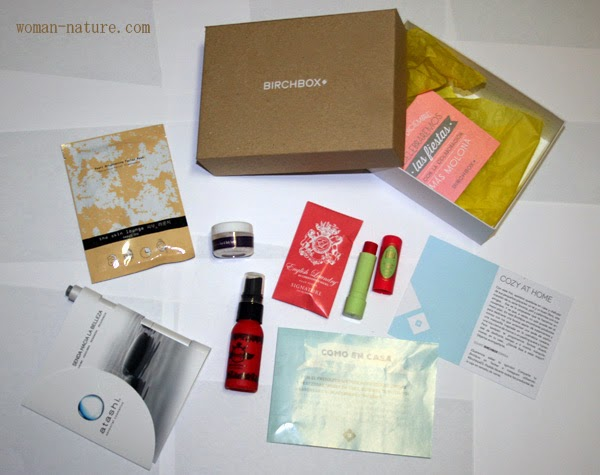 Birchbox noviembre 2014: Cozy at home
