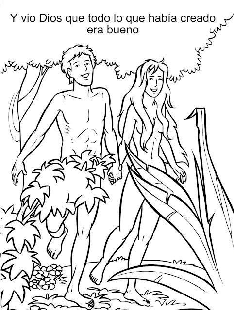 ME ABURRE LA RELIGIÓN: ACTIVIDADES ADÁN Y EVA