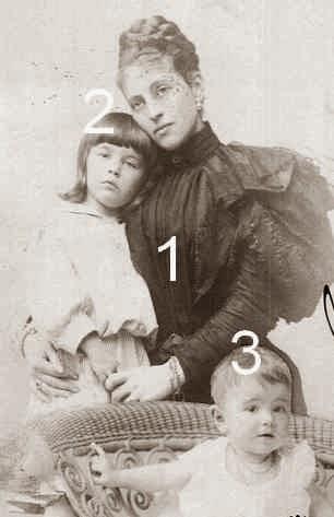 Comtesse von Hartenau, comte von Hartenau et comtesse Marie Therese von Hartenau
