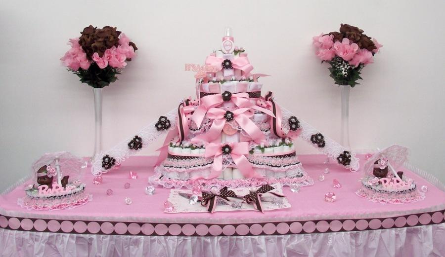D coration mariage fete anniversaire bapteme et - Deco baby shower fille ...