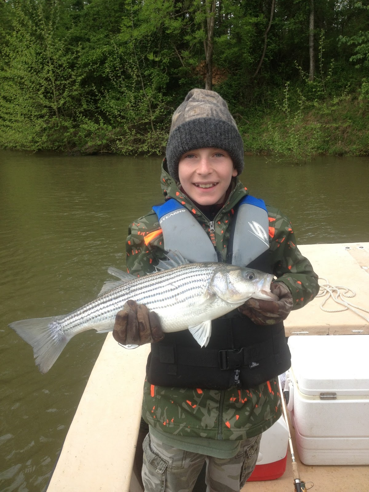 Degs fishing report fishing today for Today fishing times