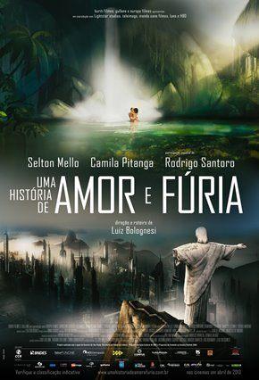 Uma História de Amor e Fúria - Nacional Filmes Torrent Download onde eu baixo