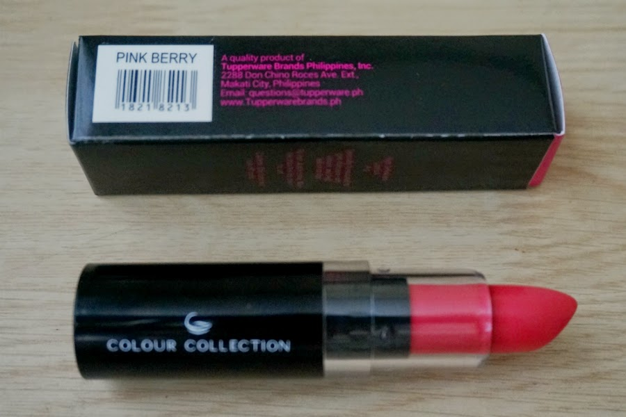 Colour Collection HD Lipstick (Pink Berry)