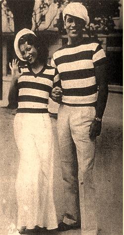 Carmem Miranda e Mário Cunha