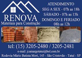 RENOVA MATERIAIS PARA CONSTRUÇÃO