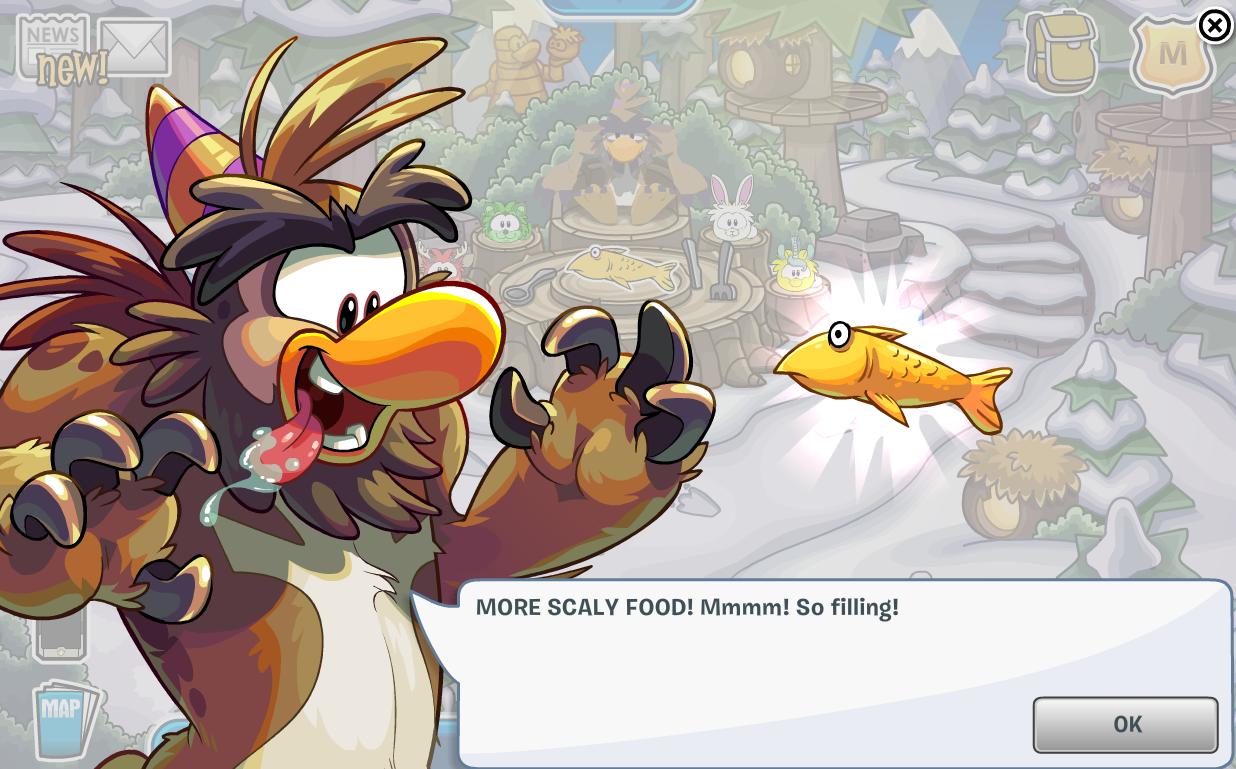 Club Penguin Puffle Party 2015 Cheats Sasquatch