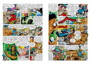 Páginas 3 y 4 de La guerra que dan las galaxias: al despertar de la juerga