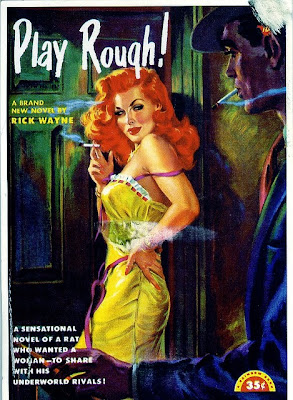 Play Rough pulp cover by George Gross