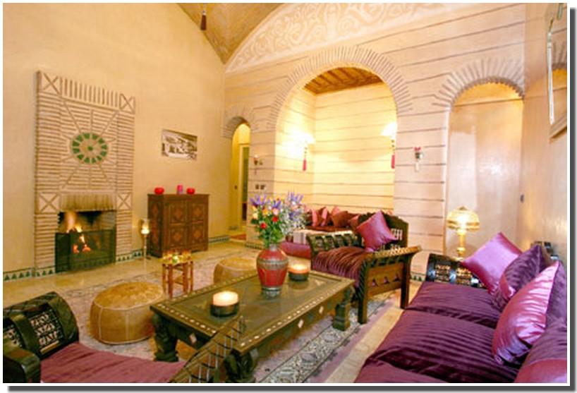 Nassima Home: Salon arabe moderne et traditionnel