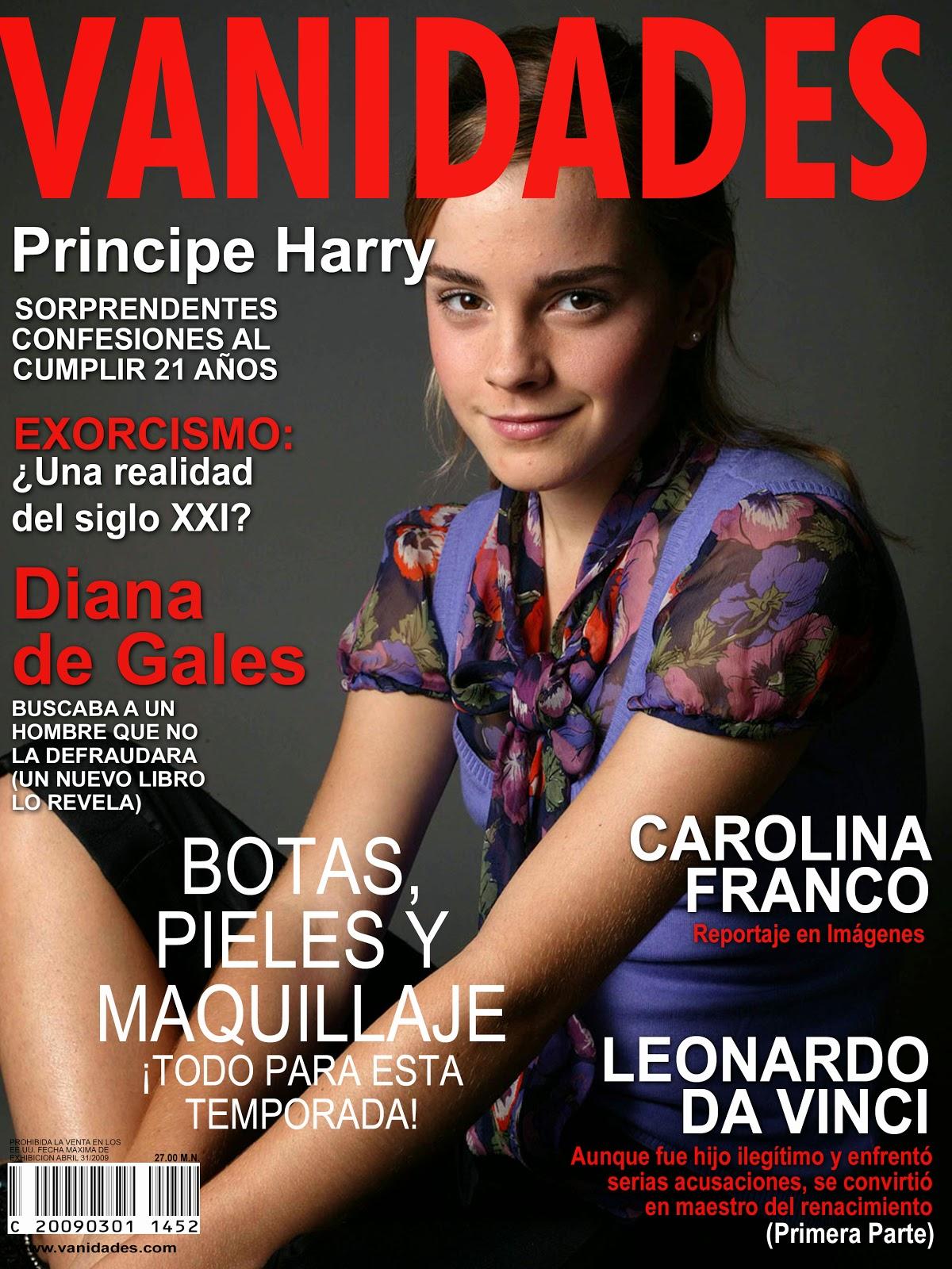labiblioteque: Plantilla de photoshop de la revista VANIDADES