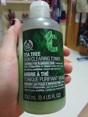 The Blackmentos Beauty Box Review The Body Shop Tea Tree